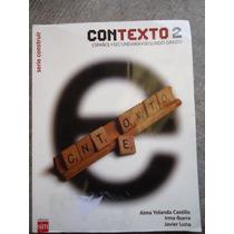 Libro Contexto Español Secundaria