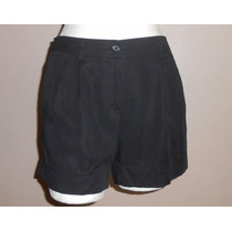 H&m! Short Negro,super Básico, Talla 8