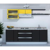 Cocina Integral 2.40m Gabinetes Alacenas Cubierta Formaica