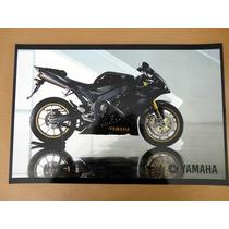 Colección De 6 Posters Imagenes Yamaha Motocicleta (fz, Star