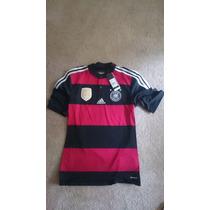 Jersey Adidas Alemania Mundial Campeon 2014 4 Estrellas