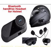 Intercomunicador Bluetooth Casco Moto Manos Libres