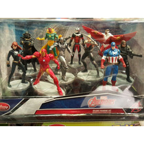 Disney Store Civil War Iron Man Playset No Funko Pop Panther