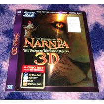 Las Cronicas De Narnia 3 3d - Bluray Import -solo Slipcover-