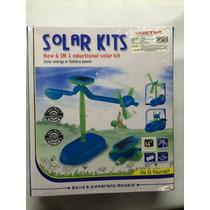 Kit Solar 6 En 1 Para Armar Bote, Carro, Perro