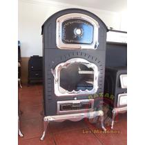 Chimenea De Leña Con Horno Cocedor / Calefactor