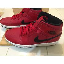 Tenis Nike Jordan Retro 1 Color Rojo En 28.5 Mex Originales