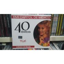 Yuri Cd 40 Exitos Digipack Nuevo 2 Cds Descontinuados