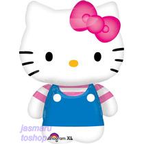 6 Globos Metalico 14 Pulg Hello Kitty Para Arreglo D Mesa Su