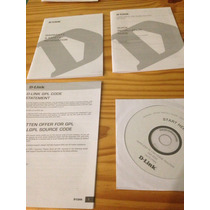 Documentacion Y Cd De Instalacion De Router D-link