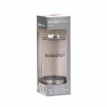 Sodastream 1l Carbonatado Botella Con Acero Inoxidable Acent