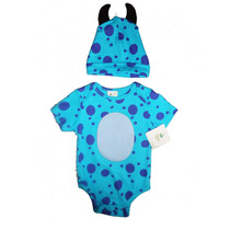 Pañalero Disfraz Bebe Sulley Monsters Inc * Disney Baby *