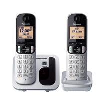 Kit 2 Telefonos Panasonic C212w Identificador Envio Gratis