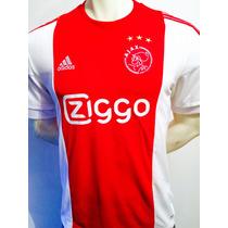 Jersey Del Ajax De Holanda 2016 Original