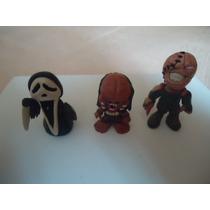 3 Figuras De Resina Epoxica Scream Predator
