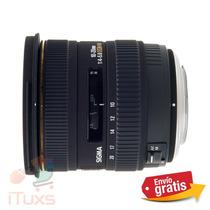 Ituxs I Lente Sigma 10-20mm F4-5.6 Ex Nuevo I Envio Gratis