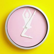 Reloj De Pared Con Diseño De Bailarina De Ballet Ballerina