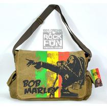 Bob Marley Mochila Mensajero 100% Original