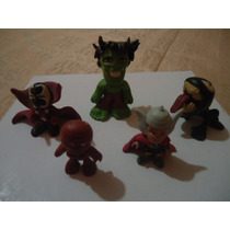 5 Figuras De Marvel De Resina Epoxica