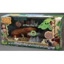 Libro De La Selva Deluxe Playset Con Mowgli