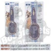 Dogit Le Salon Cepillo Gde Con Cerdas De Acero Au1