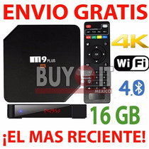 M9 Plus Android Tv Box 2gb 16gb ¡el Último! +envíogratis+rca