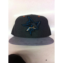 Gorra Sharks Nhl Mitchell And Ness Snapback Original