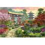 16019 Jardín Japonés Rompecabezas Panorámico 3000 Pzs Educa