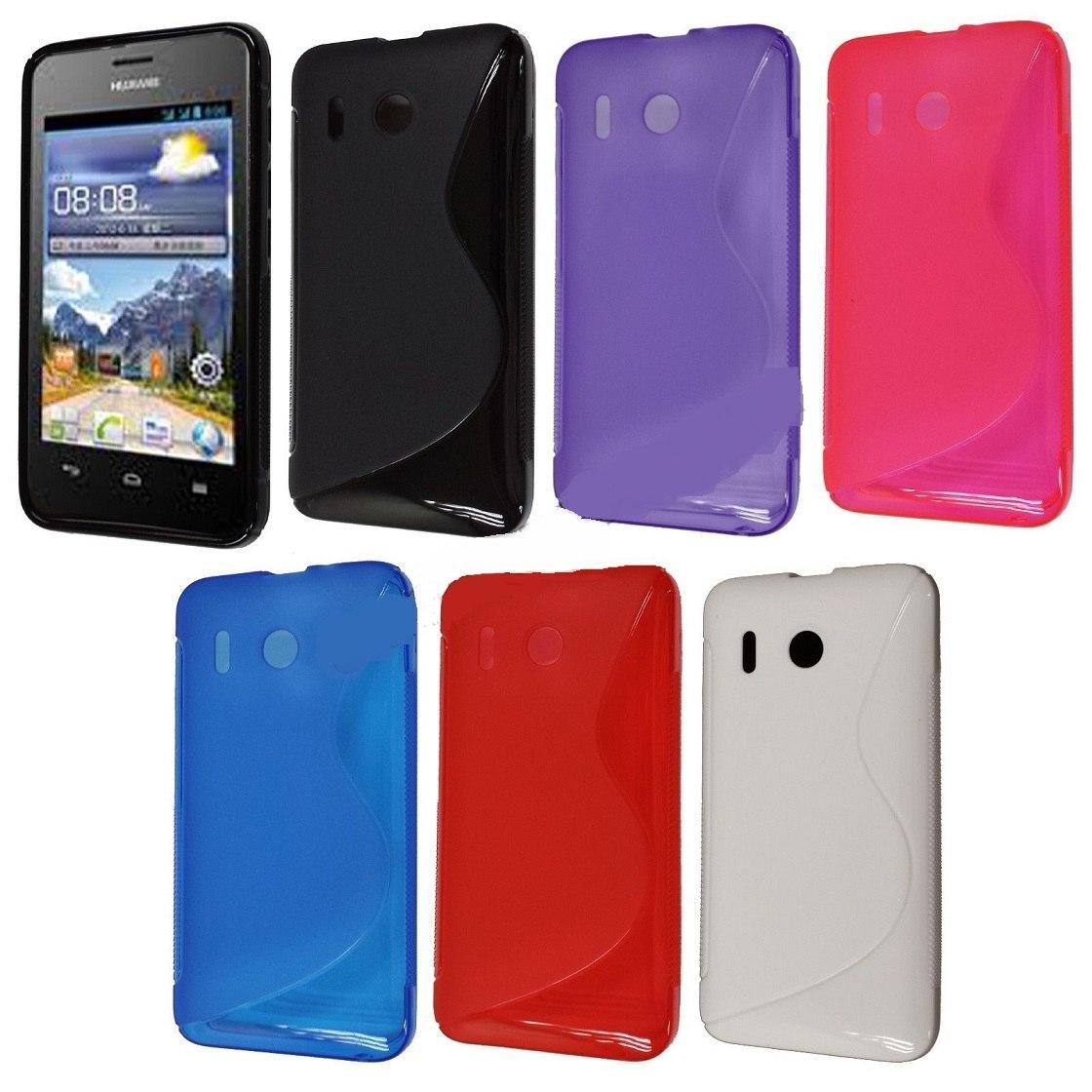 2 protector de gel para celular huawei ascend y320 38 for Protectores 3d para celular