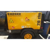 Compresor Kaeser 210pcm Y 375pcm Año 2012 Motor Kubota Turbo