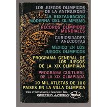 Libro Programa Juegos Olímpicos México 1968 Hylsa La Afición