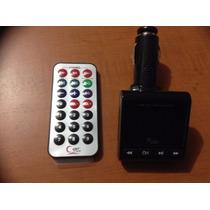 Transmisor Fm C/control Remoto Usb/msd/sd Mp3/wma 4 In 1 Lcd