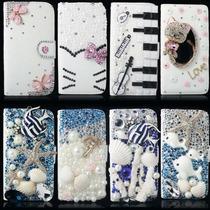 Hermosa Funda/cartera Crist Hello Kitty-animals Para Samsung