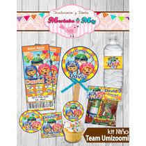 Invitacion Cumpleaños Team Umizoomi Kit Imprimelo Tú!!