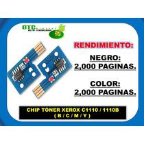 Chip Toner Xerox C1110 1110b (b/c/m/y) Vbf