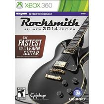 Juego Rocksmith 2014 + Cable Nuevo Xbox 360 Blakhelmet E