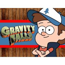 Kit Imprimible Gravity Falls, Invitaciones Y Cajitas