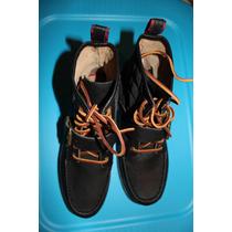 Botas Polo Ralph Lauren 25.5 Mx 100% Piel Originales Nuevas