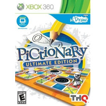 Pictionary Ultimate Edition Xbox 360 Nuevo Entrega Express