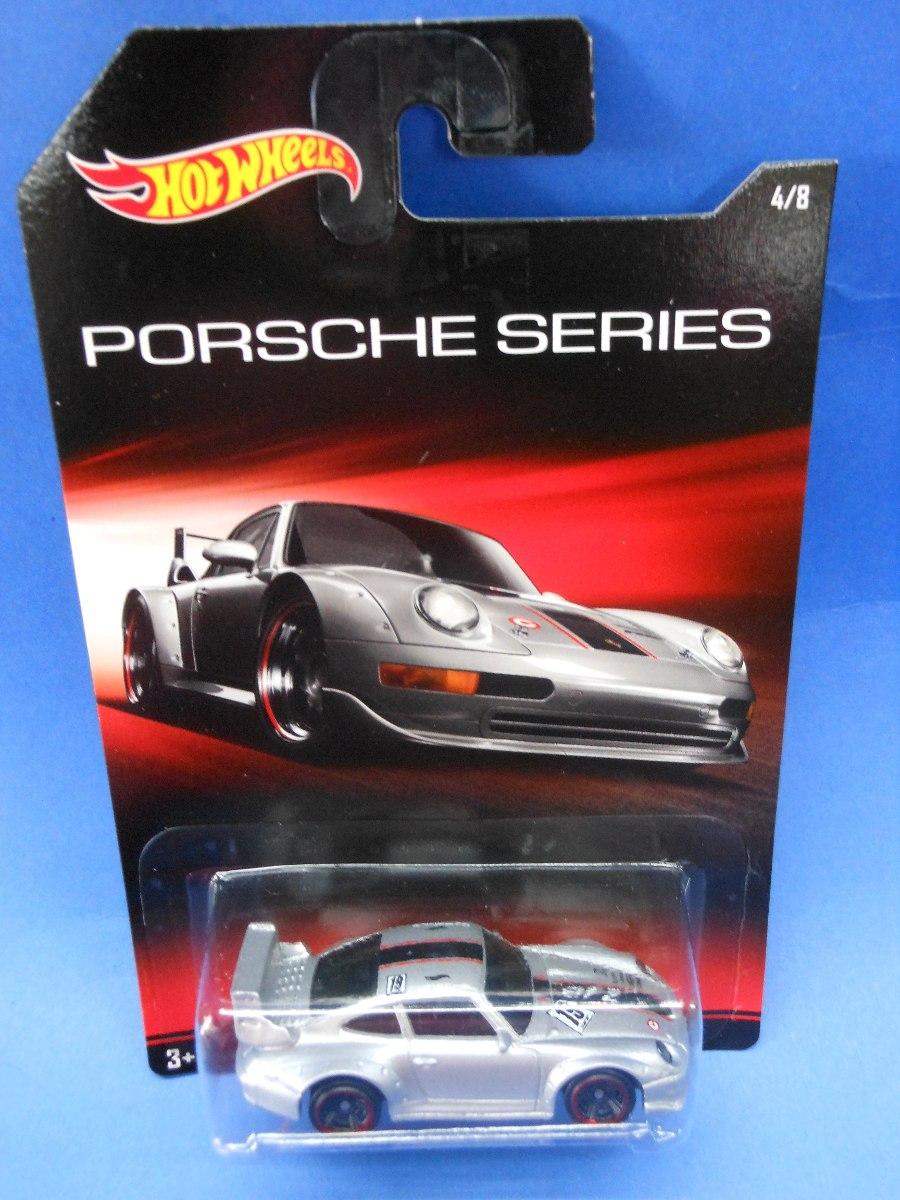 2014 hot wheels porsche 993 gt2 plata porsche series