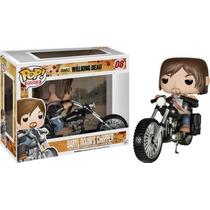 Funko Pop Rides Walking Dead Daryl Bike Moto Nueva