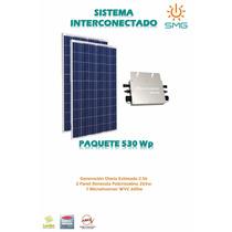 Kit 2 Panel 265 + Microinversor - Modulo Energía Solar