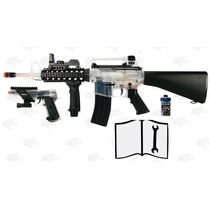 Kit Combo Marcadora Electrica Colt Airsoft Bbs Xtreme