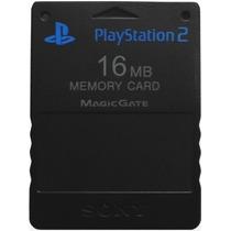 Memory Card 16mb Memoria Sony Ps2 Play Station Playstation 2