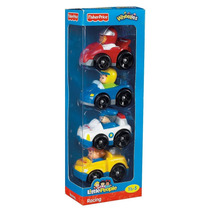 Tb Juguete Fisher-price Little People Wheelies All About Rac