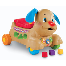Tb Juguete Fisher-price Laugh And Learn Stride To Ride Puppy