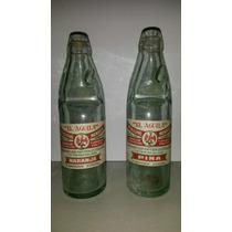 Botella Antigua De Canica El Aguila