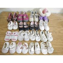 Lote 16 Pares Zapatos Bebe Niña 10-15 Cm Planta E903
