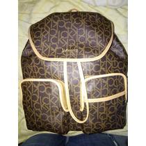 Mochila Backpack Calvin Klein De Lujo Nueva Y Original