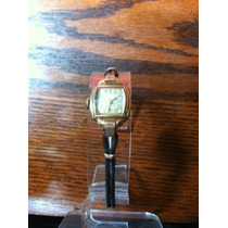 Reloj Vintage Bulova De Cuerda Chapa De Oro 10k